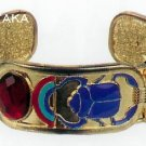 ANCIENT EGYPTIAN SCARAB CARTOUCHE BRACELET (2454S)