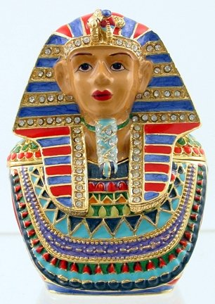 KING TUT JEWELED BOX-EGYPTIAN (3379)