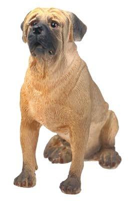 MASTIFF DOG FIGURINE (4947s)