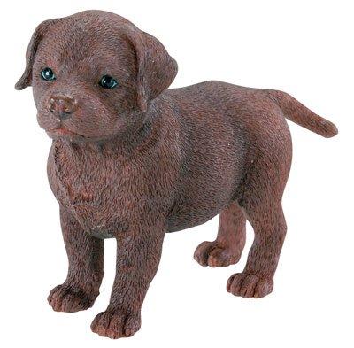 BROWN LABRADOR DOG STATUE-FIGURINE (6793s)