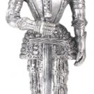 MEDIEVAL SUIT OF ARMOR-PEWTER-FIGURINE (6171s)