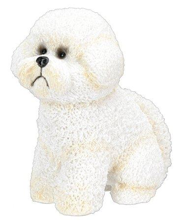 BICHON FRISE DOG FIGURINE (4955s)