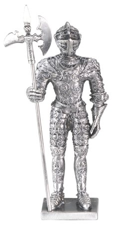 FRENCH KNIGHT-PEWTER-FIGURINE-CHIVALRY (6172S)