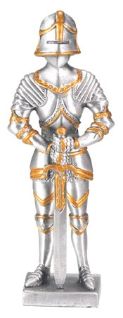 MEDIEVAL KNIGHT -PEWTER-FIGURINE (6759S)