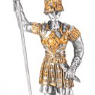 MEDIEVAL WARRIOR-PEWTER-FIGURINE-KNIGHT (6552s)