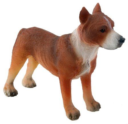 AMERICAN PITBULL TERRIER DOG FIGURINE-AMERICAN PIT BULL TERRIER-APBT (5027)