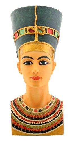 EGYPTIAN QUEEN NEFERTITI BUST FIGURINE (6325)