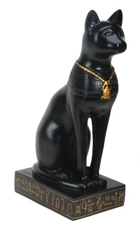 BASTET STATUE-ANCIENT EGYPTIAN BAST (5070)