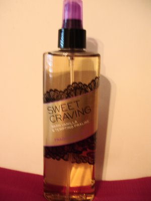 Victoria's Secret Sweet Craving warm Vanilla And Tempting Praline Fragrance Mist