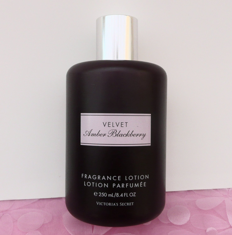 Victoria's Secret Velvet Amber Blackberry Lotion