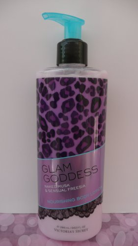 Victoria's Secret Glam Goddess Naked Musk And Sensual Freesia nourishing body lotion.