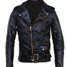 Men motorbike leather jacket by Ruby Leather