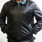 Men Leather jacket for men bomber By Ruby Leather Free Shipping to Australia & New Zealand!!
