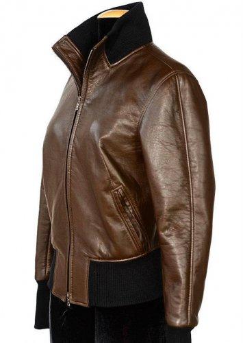 Women bomber Leather jacket women leather jacket  ladies leather jacket