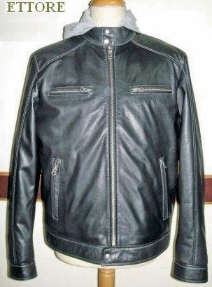 New Men Leather jacket Men jacket leather jacket for men motorcycle jacket biker jacket (Etor)