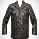 Bufallo Leather jacket for men leather coat leather blazer free shipping by Ruby Leather