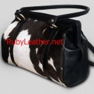 cowhide leather bag ladies handbag women handbag ladies purse style(ART-625)