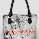 cowhide leather bag ladies handbag women handbag style (ART-622