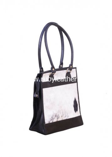 cowhide handbag leather purse shopper bag by Ruby Leather Free Shipping to Australia & NewZealand