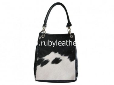 Genuine cowhide shopper bag carry bag Free Shipping to Australia & NewZealand