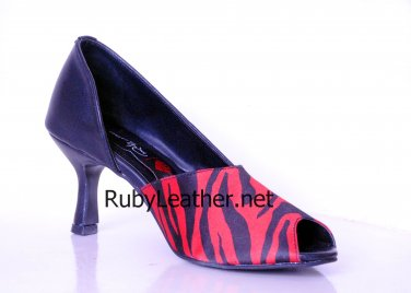 women ladies fashion new design real leather heels pumps shoes by Ruby Leather Size 8
