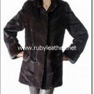 Shearded texture Mink fur Coat for ladies , mink fur coat ,fox fur coat