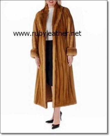 NEW WOMEN WINTER FUR COAT, mink full length coat .