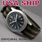 18mm Original James Bond NATO Military Watch Strap Band