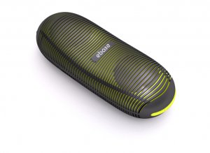 ebase portable rechargeable speakers - Yellow/Black