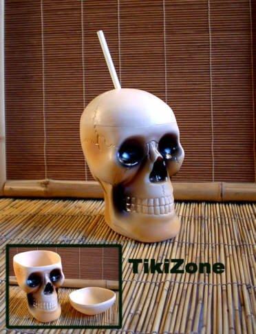 12 Skull Drinkin' Mugs - Pirate Grog a plenty!