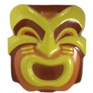 Set of 4 Smiling Tiki Head Luau Party Masks