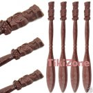 25 Hawaiian Tiki Swizzle / Stir Sticks