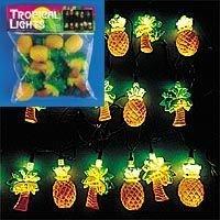 Tropical Tiki Lights for your next Luau - Pineapple