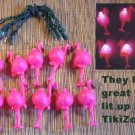 Tropical Pink Flamingo Light String Set - Chirstmas