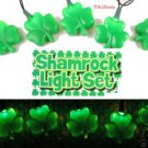 Lucky Irish Clover Light String Set - St Patrick's Day