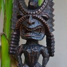 Hawaiian Tiki God Totem - Small Hapa Wood Tropical Statue
