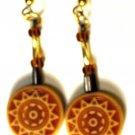 Z010 dangle ear rings