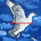 Duck in Flight Art Print