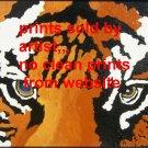 Tigers Eyes Art Print