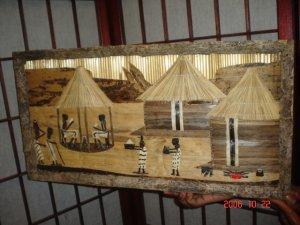 Zambia Village Painting