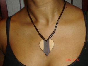 Choker and Earing Set- Heart