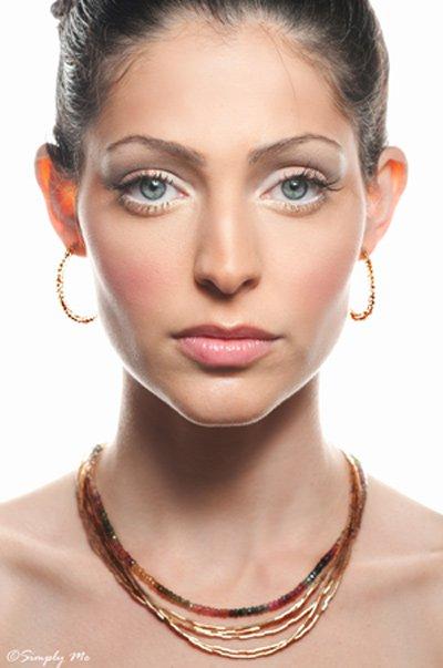 Prestige 14kt Gold filled necklace with Tourmaline