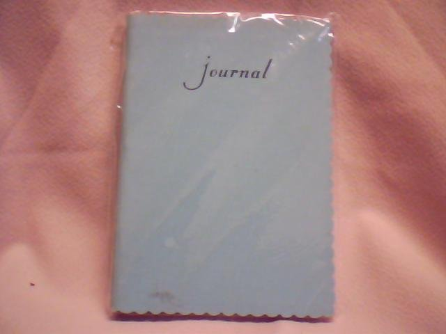 Leather Journal- Blue
