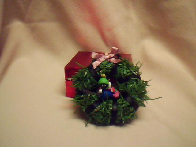 Marvin Martian Wreath Ornament
