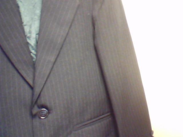 Navy Pinstripe Formal Jacket