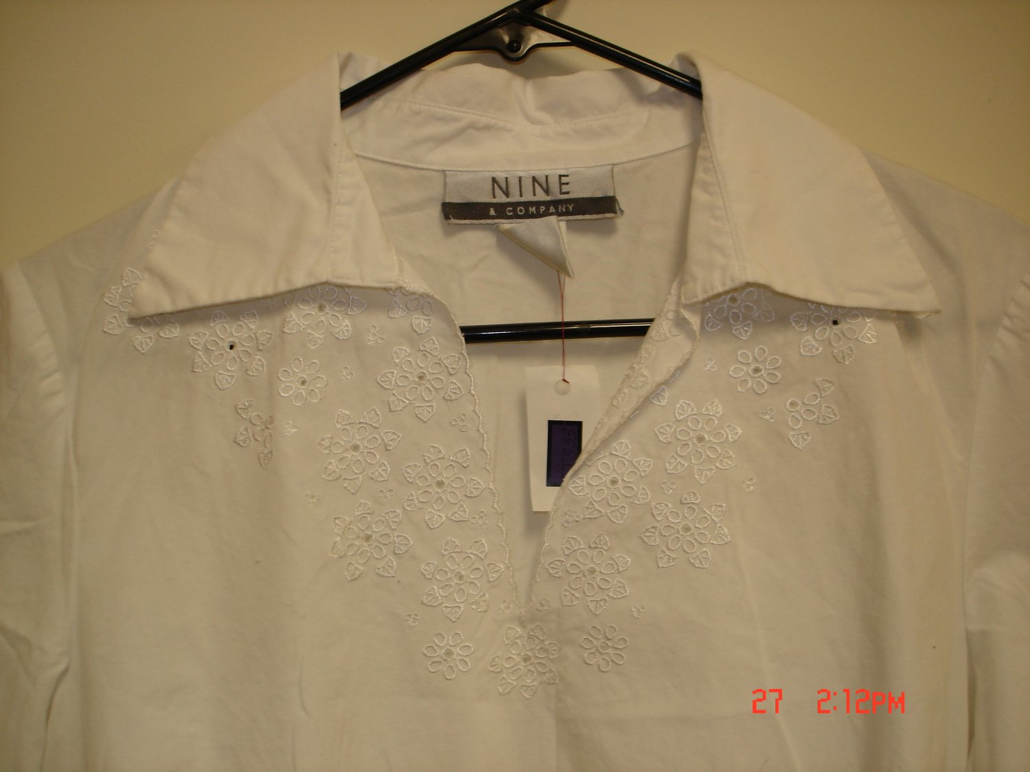 Nine & Company Blouse, Size 8