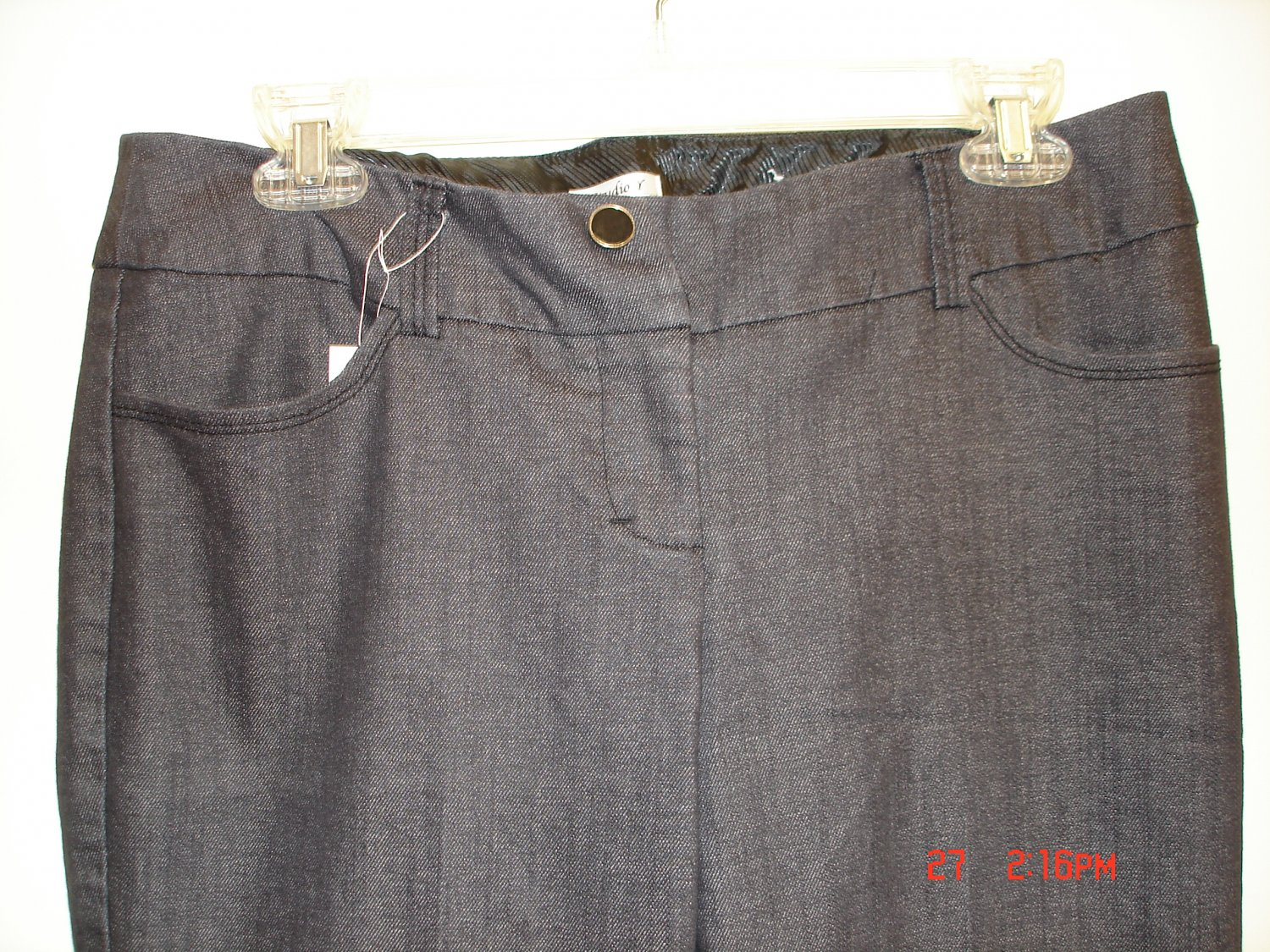 Stretch Slacks, Size 7/8