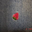 """Strawberry"" Capri, Size 24"