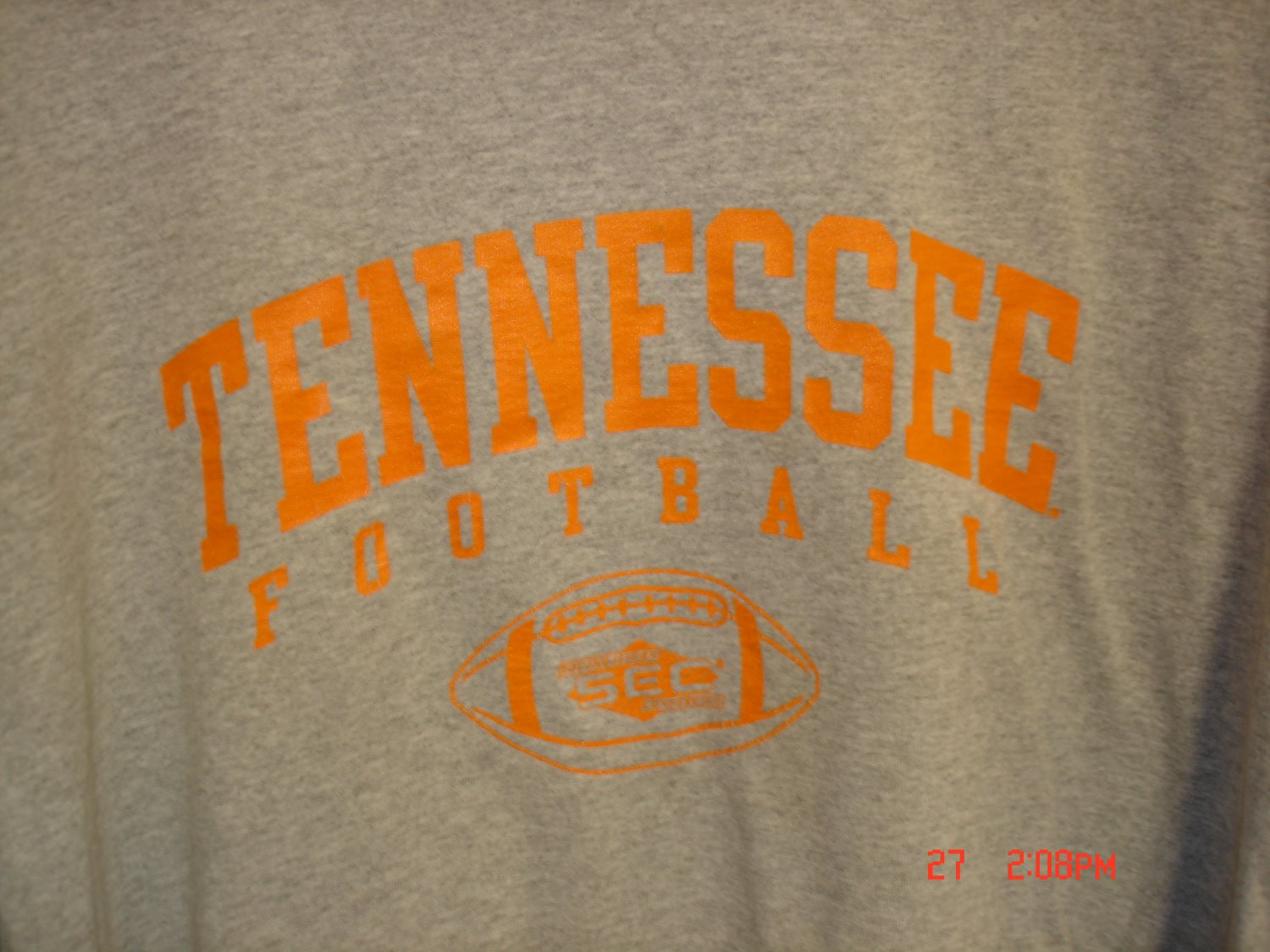 Tennessee Volunteers Shirt, Size L