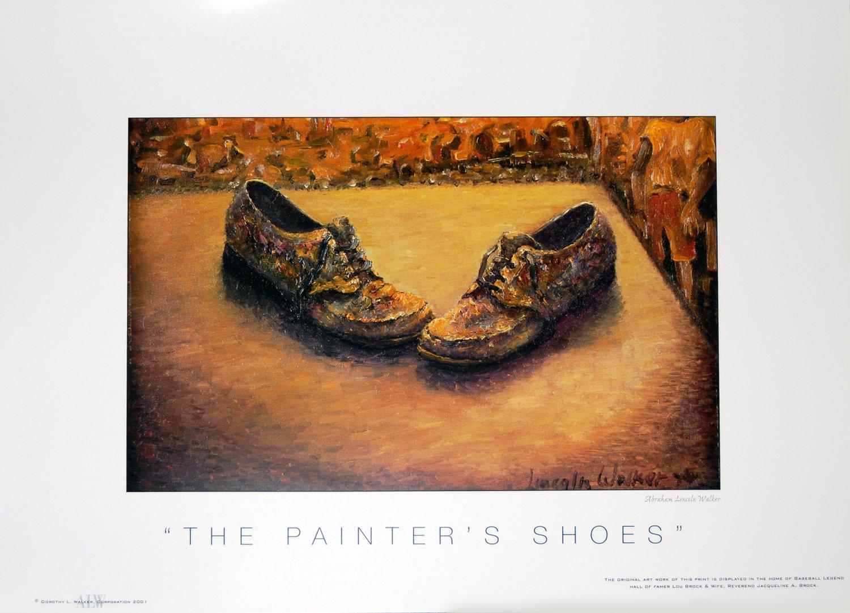 THE PAINTER'S SHOES